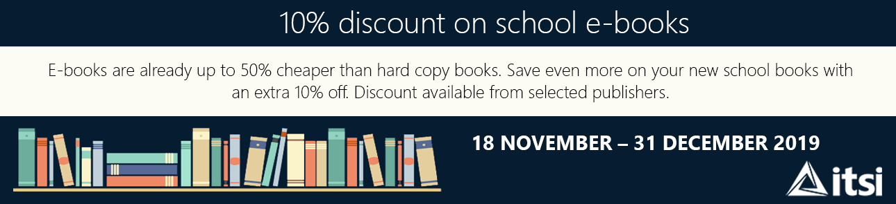 10% off ebooks in the ITSI store